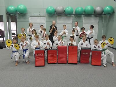 Combat Karate Kata, Set Combinations and Padwork Course May 2015