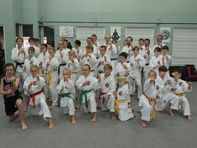 Combat Karate Noosa Kata Course September 2013