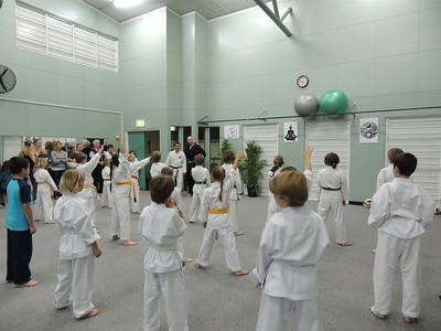 Combat Karate Student Awards Junior Class