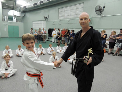 Combat Karate Junior Student of the Month Award - Alex Winn October 2012