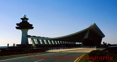 Washington Dulles International Airport located in Chantilly, VA.