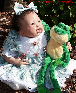 Reborn doll from Cherished Angels and Dolls in North Myrtle Beach, SC.