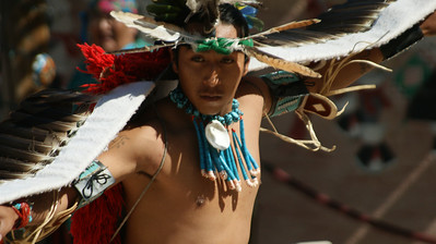 Mary Tsolakis - Navajo Eagle Dance  - http://