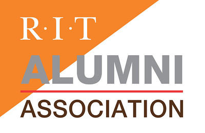 RIT ALUMNI ASSOC LOGO_LEFT TRIANGLE_LIGHTS