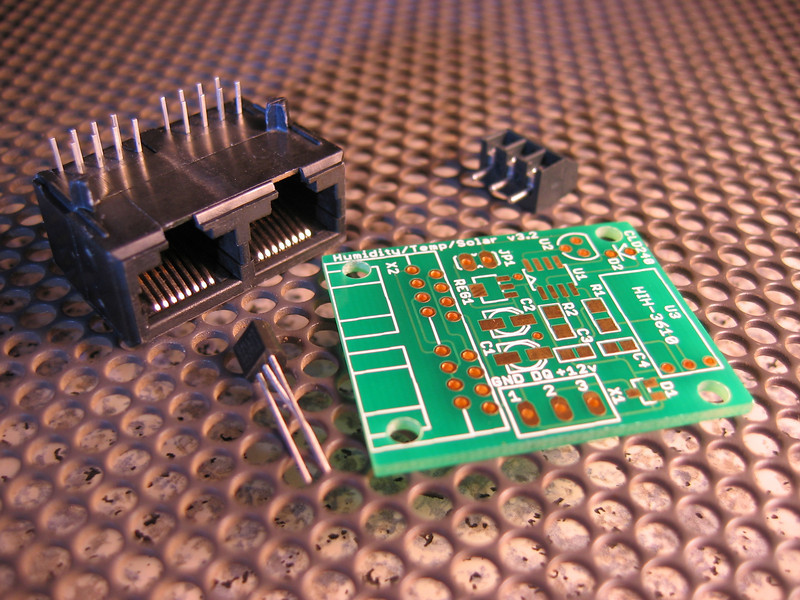 1-wire temperature sensor kit.
