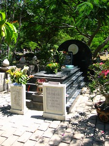 vo thi sao's grave... she was a viet cong prisoner who did something heroic to get herself killed