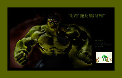 "Hulk, ""you wont like me when I'm angry"""