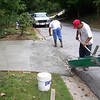 Curb cut for water..