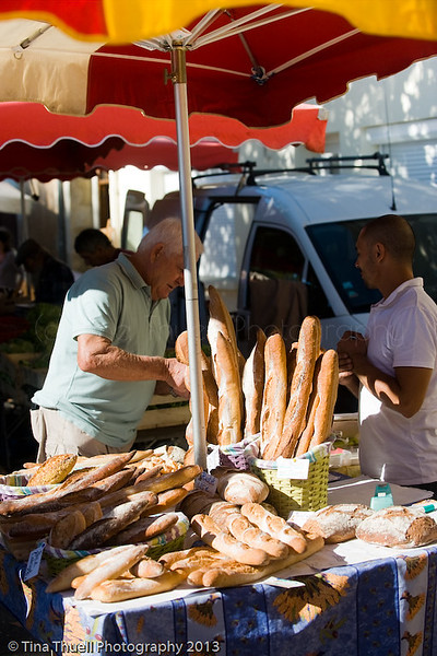 ...and the bread...OH YES!!!   We are in France and here is the real deal French Bread!!  Tastes nothing like what you get in the US.