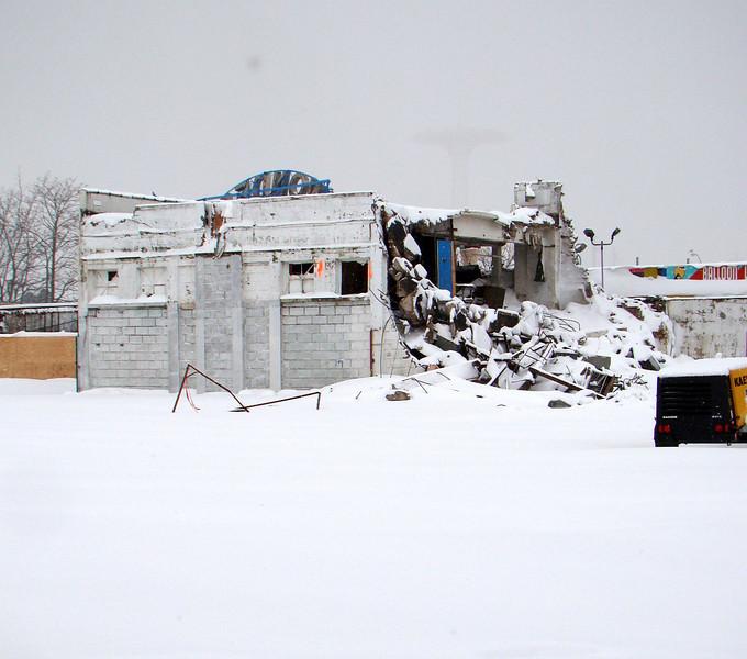 Feltman's Kitchen demolition