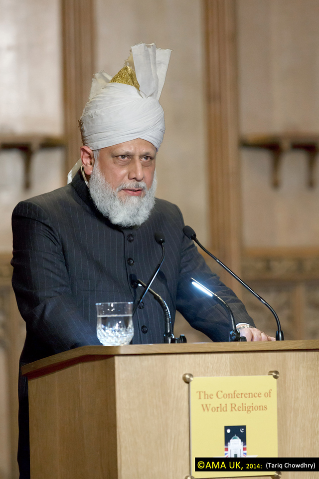 "Commenting on this, Hazrat Mirza Masroor Ahmad said:<br /> <br /> ""Those wars fought to expand kingdoms and to increase power were not in any way fought in accordance with the teachings of Islam as taught by the Holy Quran."""