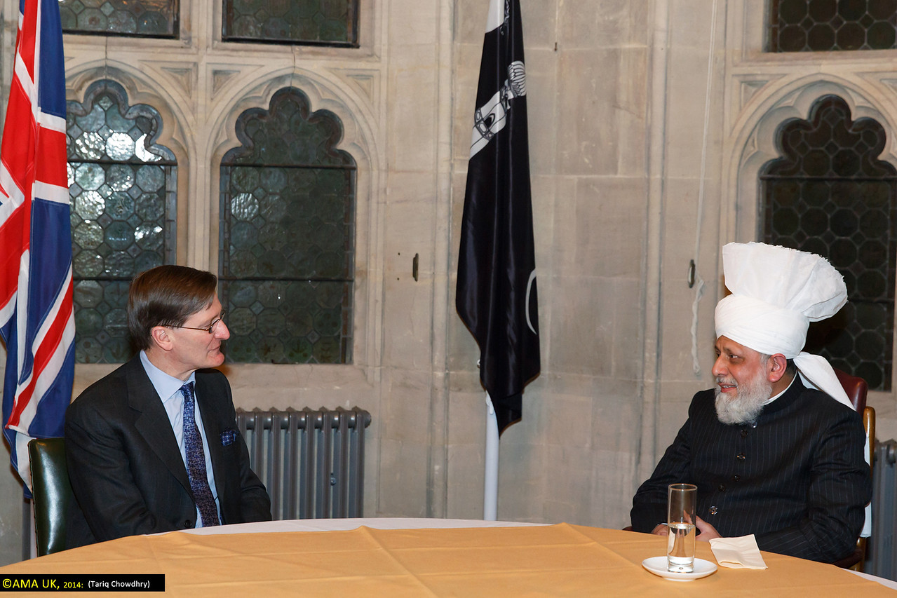 Rt. Hon Dominic Grieve QC MP, The Attorney General meets His Holiness.