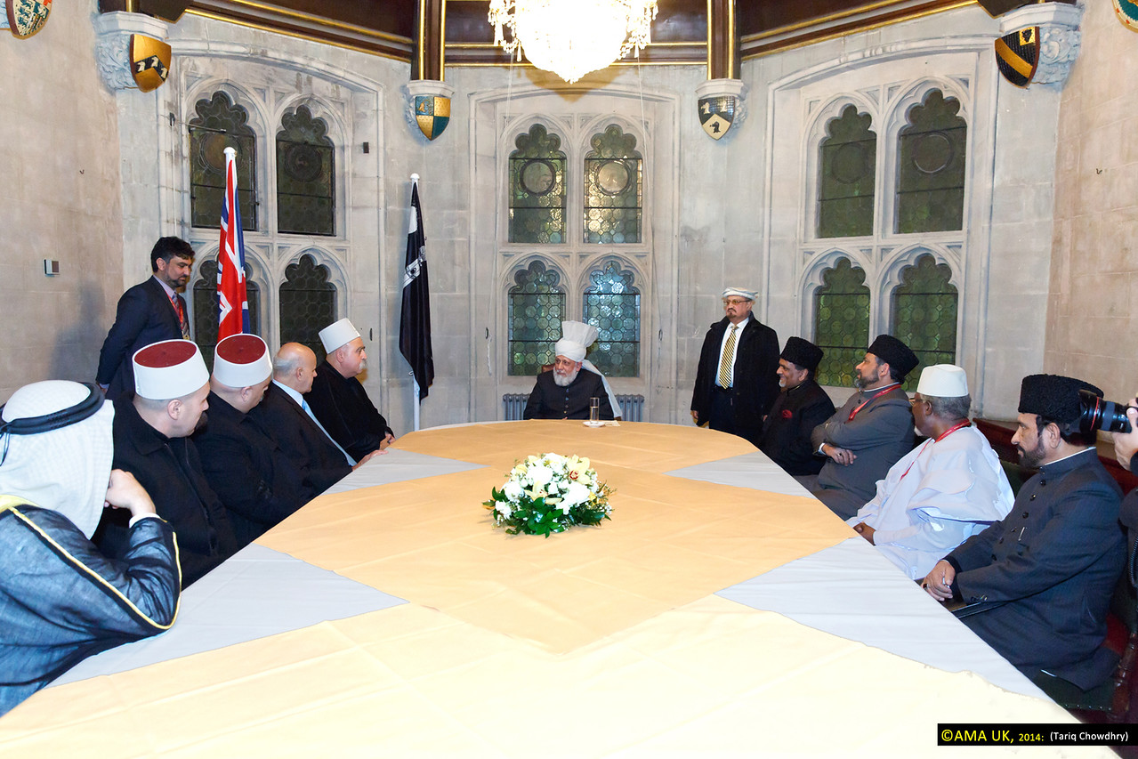 Sheikh Moafaq Tarif, Spiritual head of The Druze Community in Israel and delegation meeting with His Holiness.
