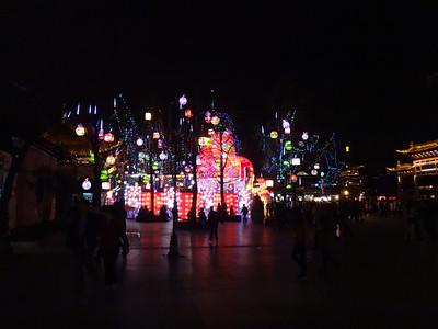 Confucius night market Nanjing