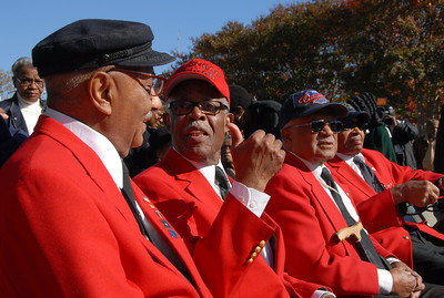 Congresswoman Eleanor Holmes Norton Honors  two of the original Tuskegee Airmen – D.C. residents  Major L. Anderson and William Fauntroy, Jr.