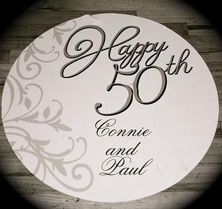 Connie & Paul's 50th Anniversary