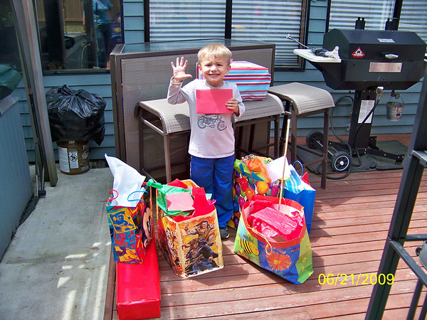 Connor 5th Birthday & Fred Bday