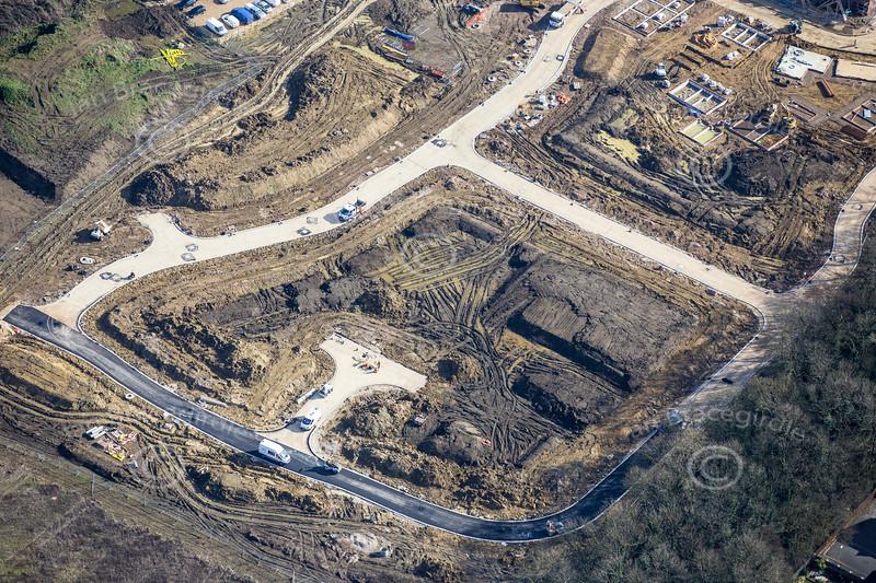 Aerial photo of Newark .