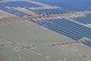 Tuxford solar farm construction site from the air.