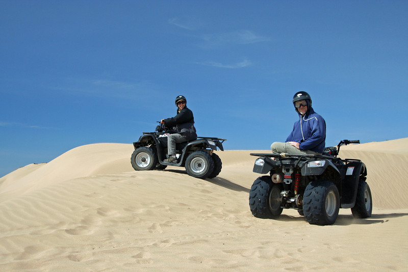 Four Wheeling in Moroco