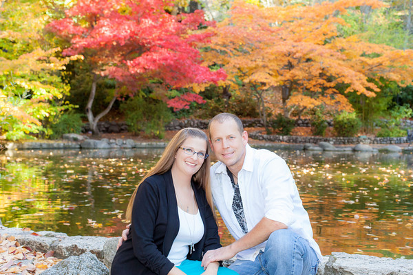 Angela and Ryan Chumley Lithia Park October 2013