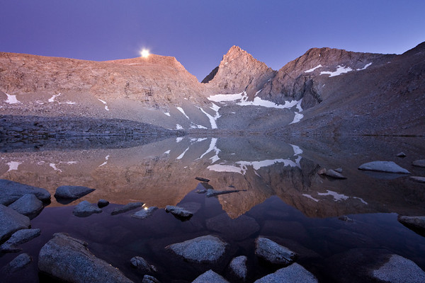 HONORABLE MENTION Junction Peak at Lake 12,100 Kings Canyon National Park submitted by: Alan Grinberg from USA