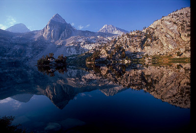 HONORABLE MENTION First Rae of Light Rae Lakes, King's Canyon, Sierra Nevada submitted by: Scott Wolfe from USA