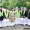Jamia 030 - Some of the Jamia students looking after the car parking area