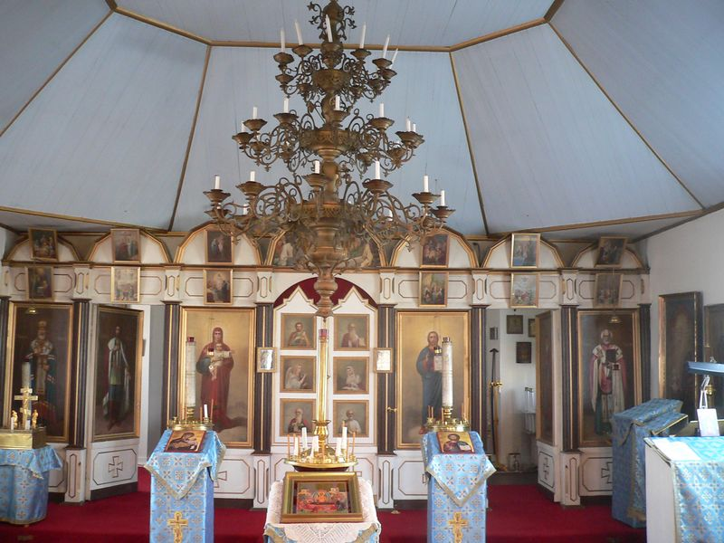 Interior of The Holy Assumption of the Virgin Mary Orthodox Church