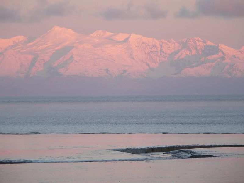 Mount Spurr has been shivering with small, shallow earthquakes since late July 2004 in a pattern that often precedes eruptions. Mount Spurr is a volcano in the Aleutian Volcanic Arc of Alaska. Mt. Spurr has erupted twice since 1950 (1953 and 1992). Both eruptions dumped volcanic ash in Anchorage 80 miles to the east.