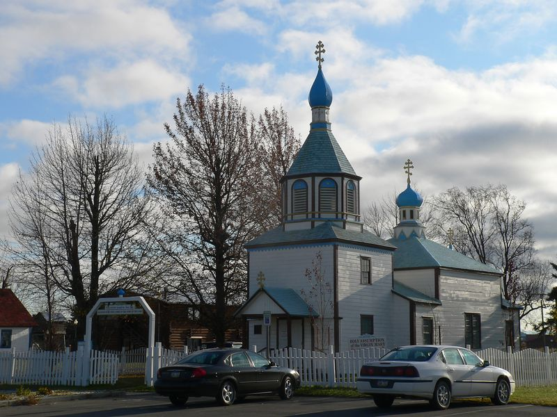 The Holy Assumption of the Virgin Mary Orthodox Church in Kenai was completed and dedicated in 1895.
