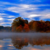 "<center><em><h2>""The Foggy Lake""</h2></em></center> I couldn't decide on which version of this image I wanted to put up today so instead of going nuts I decided to place them BOTH in my daily gallery since I was a day behind on my listings anyway. This is the COLOR version that has been processed using NIK COLOR EFEX PRO 3 and then adding some minor Contrast & sharpening. The B&W version of can be seen as the next image in this gallery or if you can here by way of the Daily main page you can <a href=""http://www.billpador.com/Galleries/Photo-of-The-Day-2008/October-08-Photo-of-The-Day/6113322_A8jK4#390302449_KFCsX"">CLICKING HERE</a>  Let me know which one YOU like the best !  Enjoy Folks ! Bill Pador"