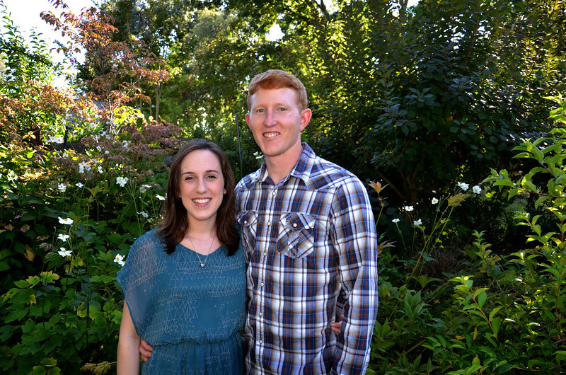 Casey and Gabe pose for special photo on Casey's birthday.  Aren't they just so cuuuute.
