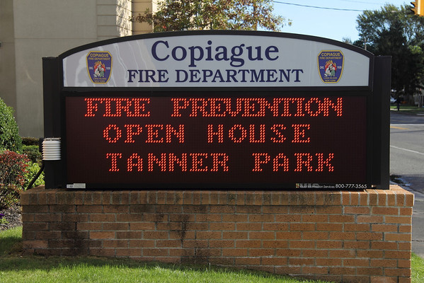 """Copiague Fire Prevention Open House """"Have Two Ways Out"""""""