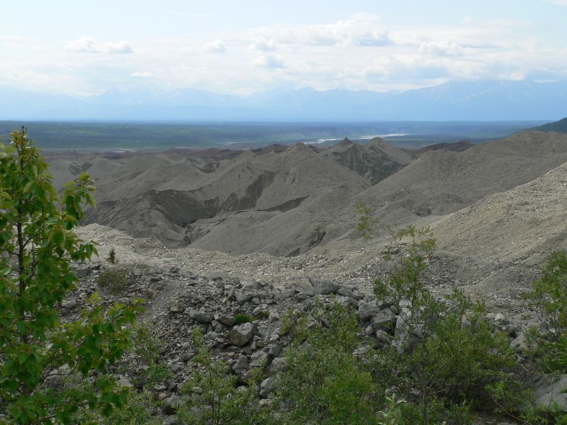 The tailings go on for miles