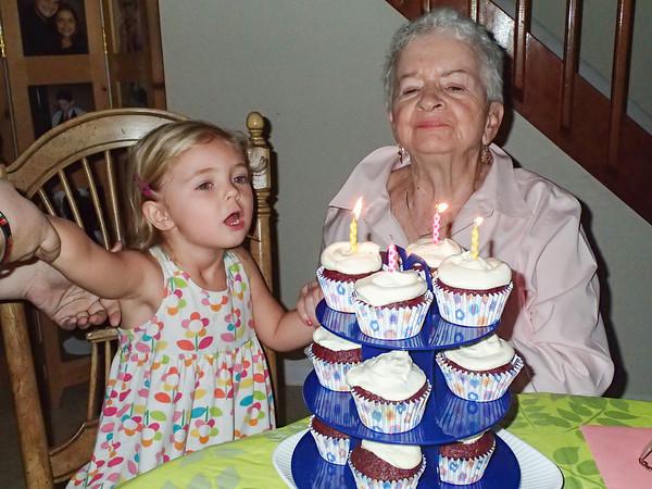 Cora & Mom's Birthday Celebration