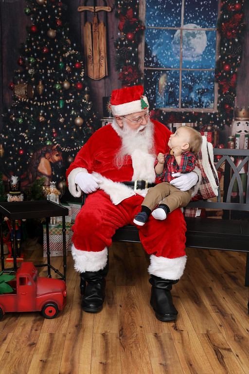 Corbin and Santa