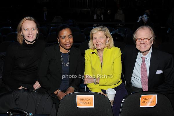 Katja Shamburger, Angie Thompson Ruiz, Sharon Baum, David Enloe<br /> photo by Rob Rich © 2010 robwayne1@aol.com 516-676-3939