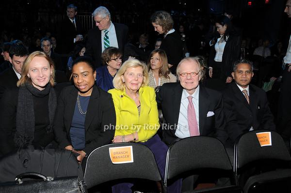 Katja Shamburger, Angie Thompson Ruiz, Sharon Baum, David Enloe, Mike Sold 1<br /> photo by Rob Rich © 2010 robwayne1@aol.com 516-676-3939
