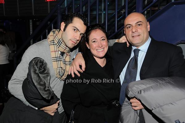 Fabio Tonelli, Deb Kavaler, Antonio Constantino<br /> photo by Rob Rich © 2010 robwayne1@aol.com 516-676-3939