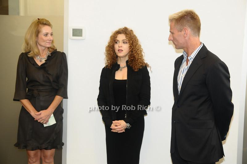 Pam Christensen, Bernadette Peters, Bill Herbst<br /> photo  by Rob Rich © 2009 robwayne1@aol.com 516-676-3939