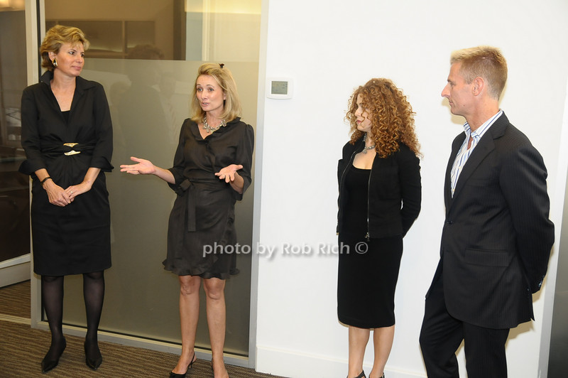 Carol Monderer,Pam Christensen, Bernadette Peters, Bill Herbst<br /> photo  by Rob Rich © 2009 robwayne1@aol.com 516-676-3939