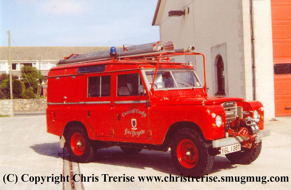 Cornwall County Fire Brigade - YGL 138T