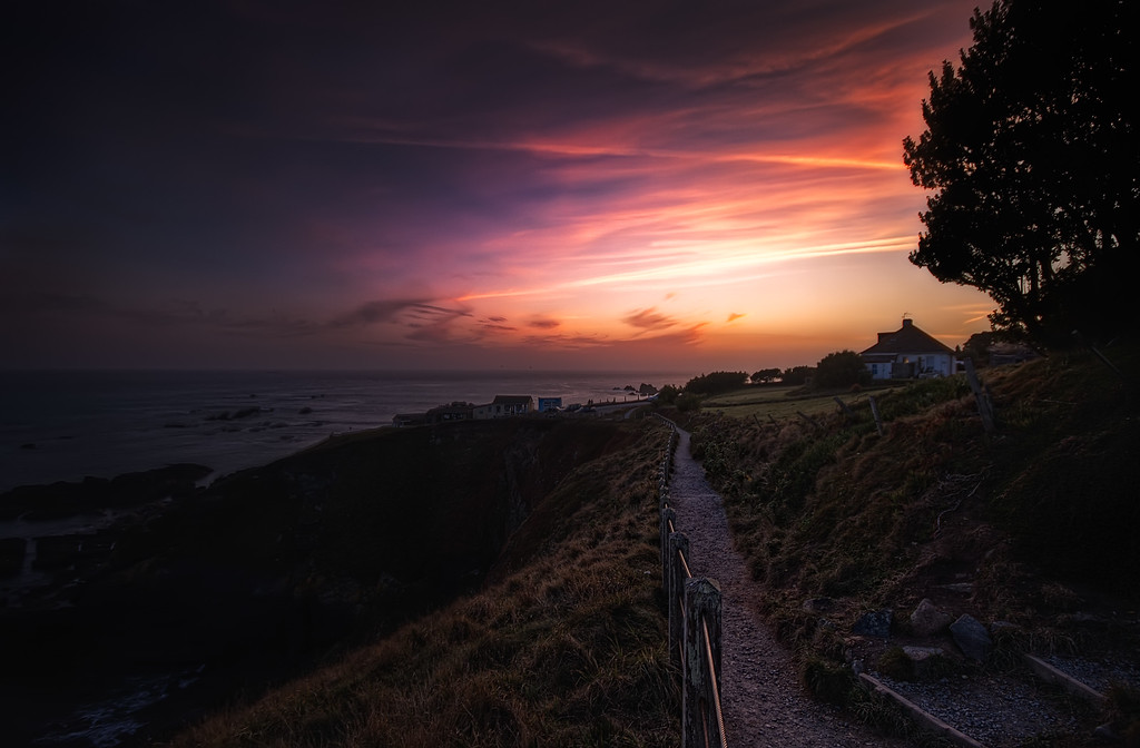 Sunset at Lizard Point