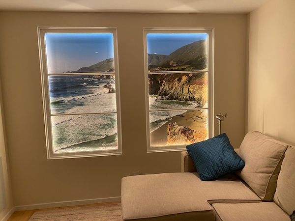 Big Sur California Coastline Mural for home or business.