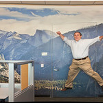 Yosemite Tunnel View Inspiration Point Fine Art Mural Panorama for Companies, Businesses and Healthcare Facilities