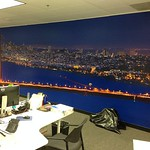 San Francisco Skyline and Golden Gate Bridge Gigapixel Panorama Fine Art Mural for Companies and Businesses