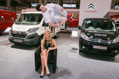 Citroen @ The Commercial Vehicle Show, NEC April 2015