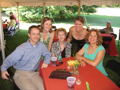 My fam :) Nana wore leopard print...at 80 years old!!!