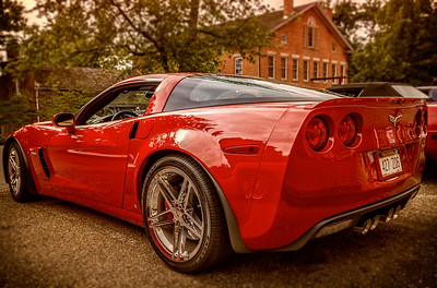 Photographed during the Corvettes at Roscoe Village in Coshocton, Ohio on June 14, 2015. Photo by Joe Frazee